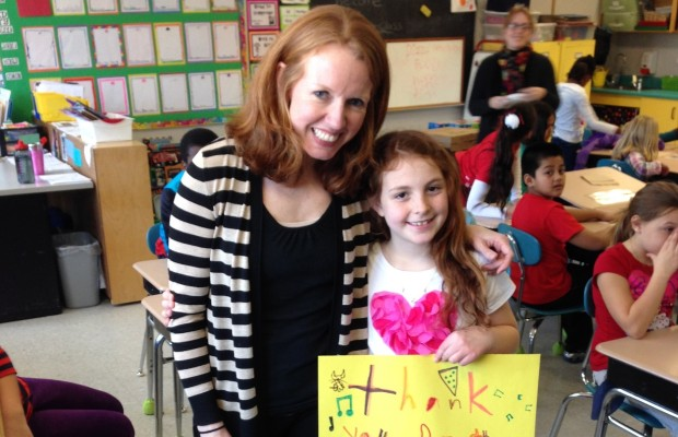 Teacher Appreciation: Mrs. Dobson's 3rd grade class at Skillin School