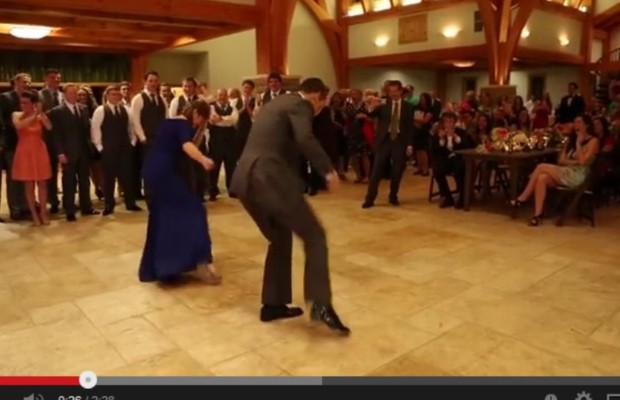 Mother & son's awesome wedding day dance!