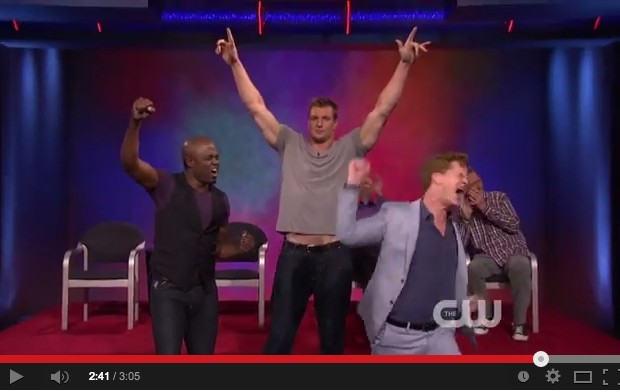 "Did You See Gronk Dancing on ""Whose Line Is It Anyway?"""