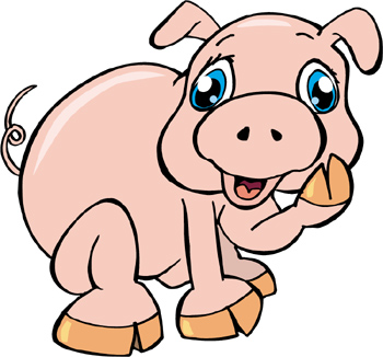 A real news story about kids being chased by an angy pig!