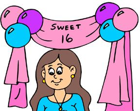 "The ""worst"" way to ruin a ""Sweet 16"" Birthday party ..."